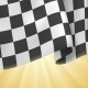 Checkered Flag Background. Card Template.  - GraphicRiver Item for Sale