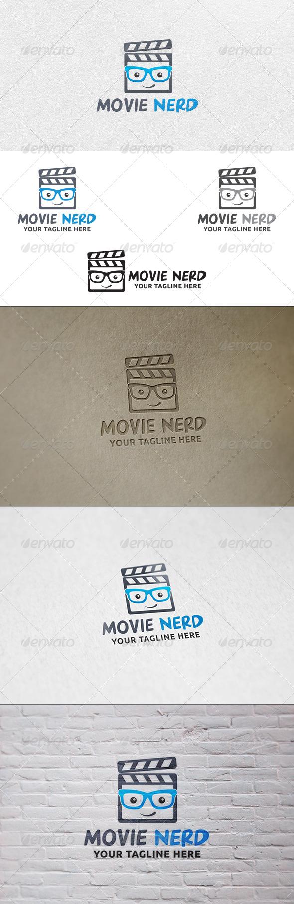 Movie Nerd - Logo Template