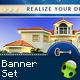 Luxury Real Estate Banner Set - GraphicRiver Item for Sale