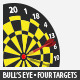 Bull's Eye - GraphicRiver Item for Sale