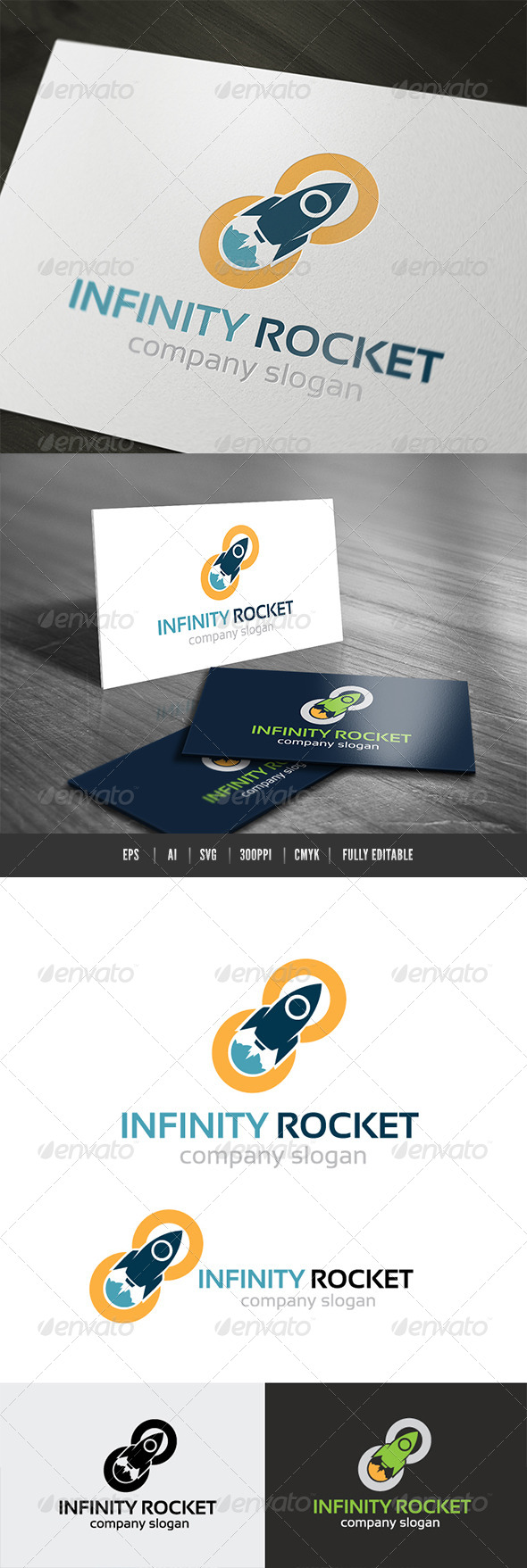 Infinity Rocket Logo