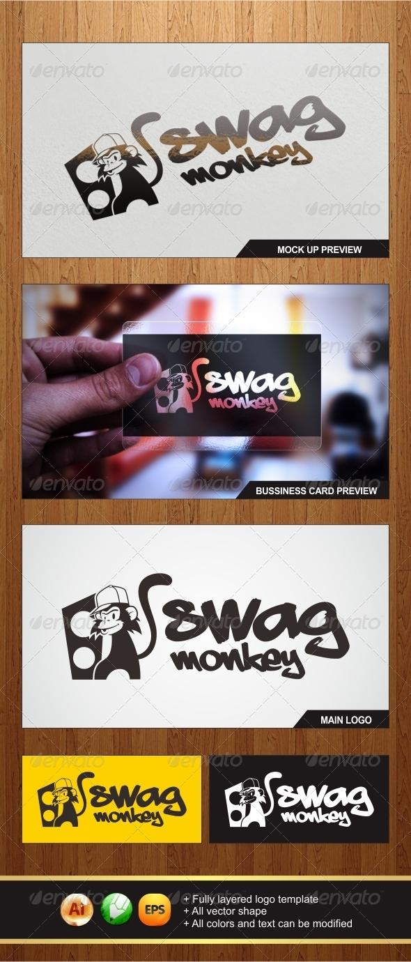 Swag Monkey Logo