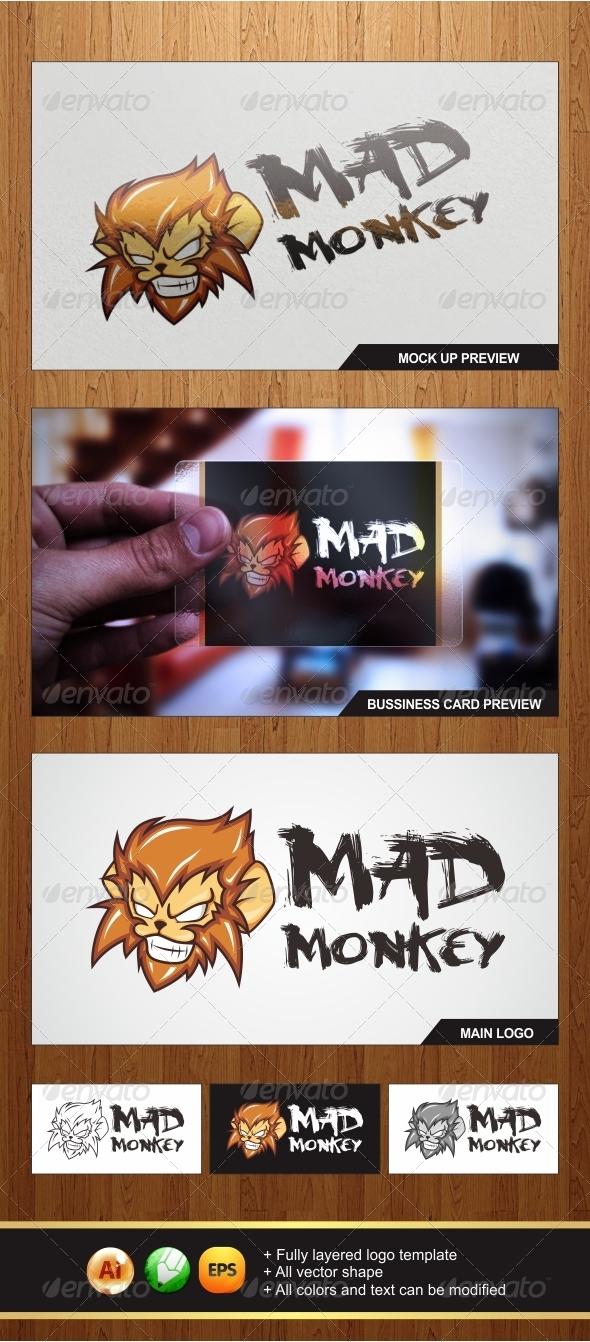 Mad Monkey Logo