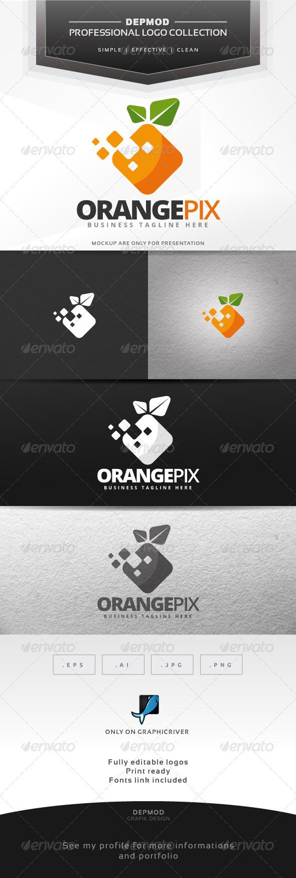Orange Pix Logo