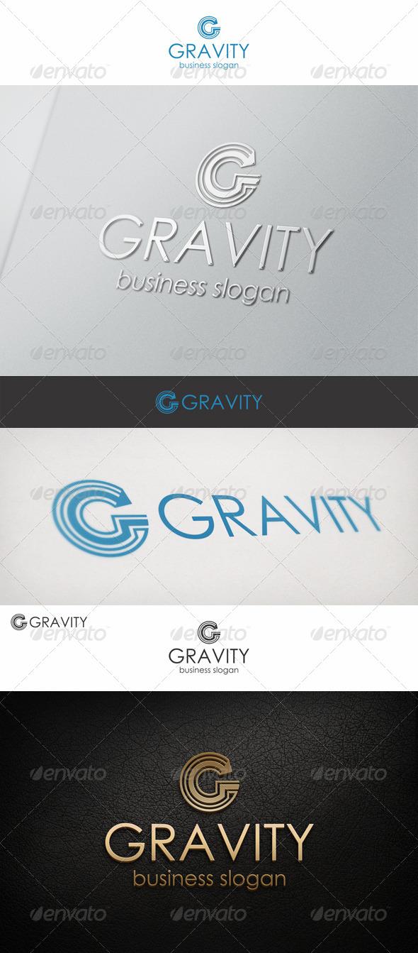 G Logo Letter - Gravity