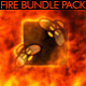 Fire Logo Opener Pack - 25 Fire Elements - VideoHive Item for Sale