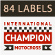 Set of 84 Race Insignia Stamps - GraphicRiver Item for Sale