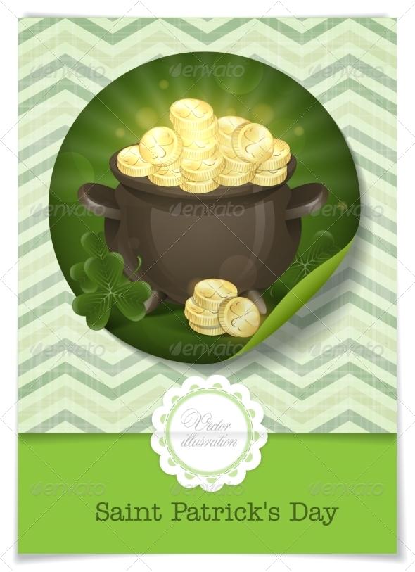 St. Patrick's Day Pot of Gold