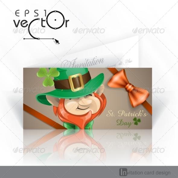 St Patrick's Day Leprechaun Face.