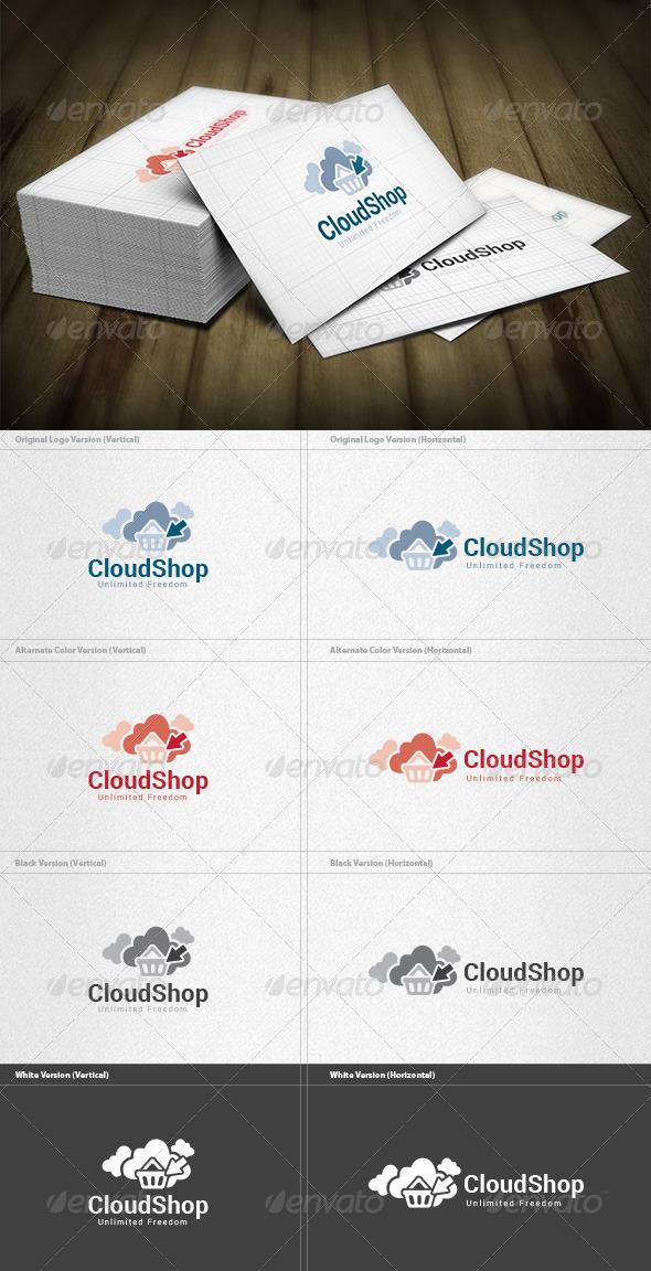 Cloud Shopping Logo