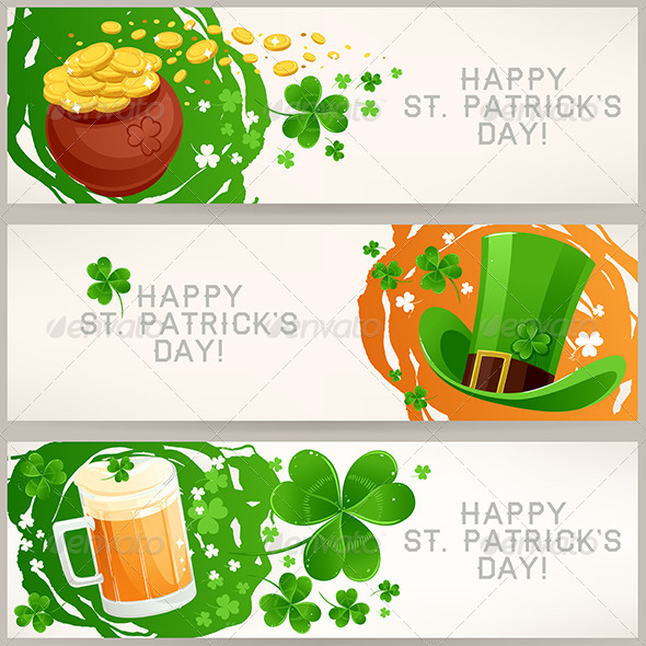 Greeting Banners to St. Patrick's Day