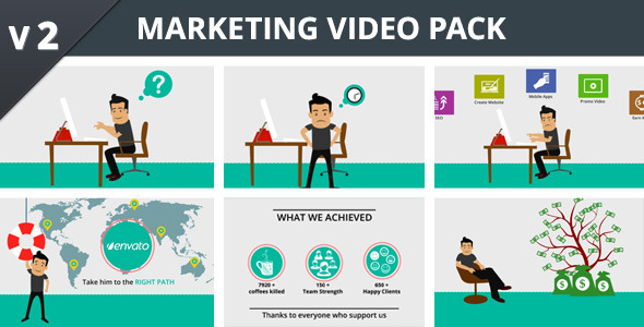 Marketing Video Pack
