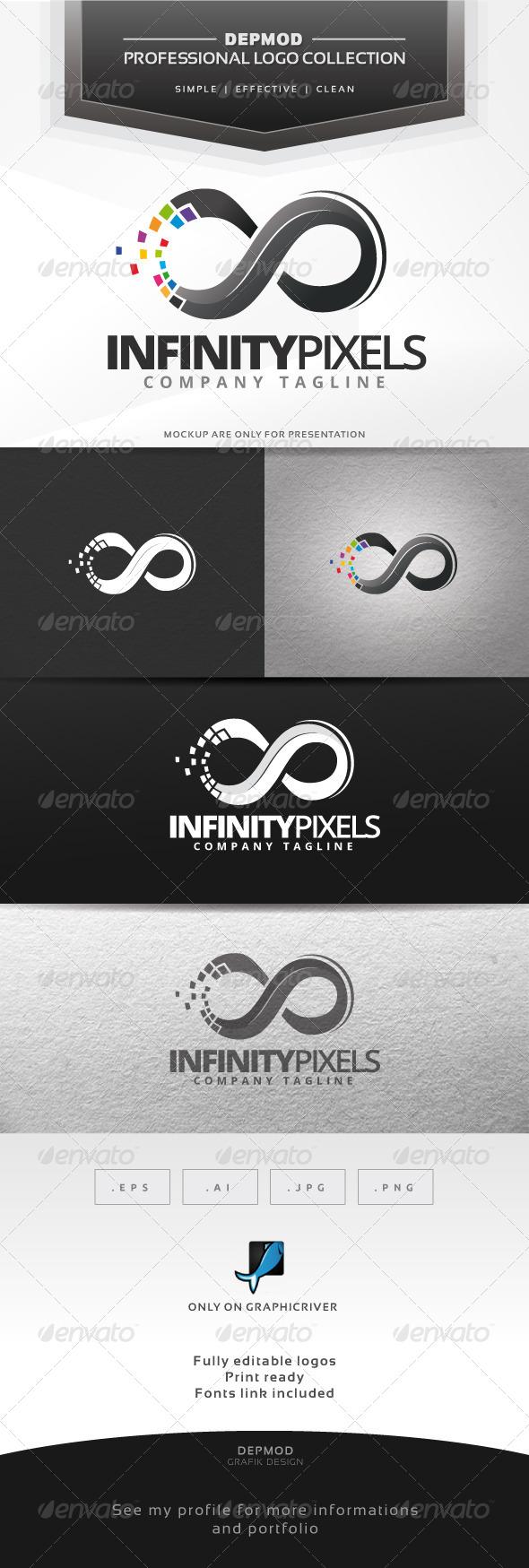 Infinity Pixels Logo