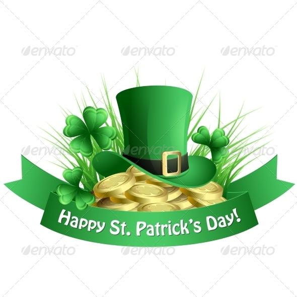 Vector Illustration St. Patrick's Background