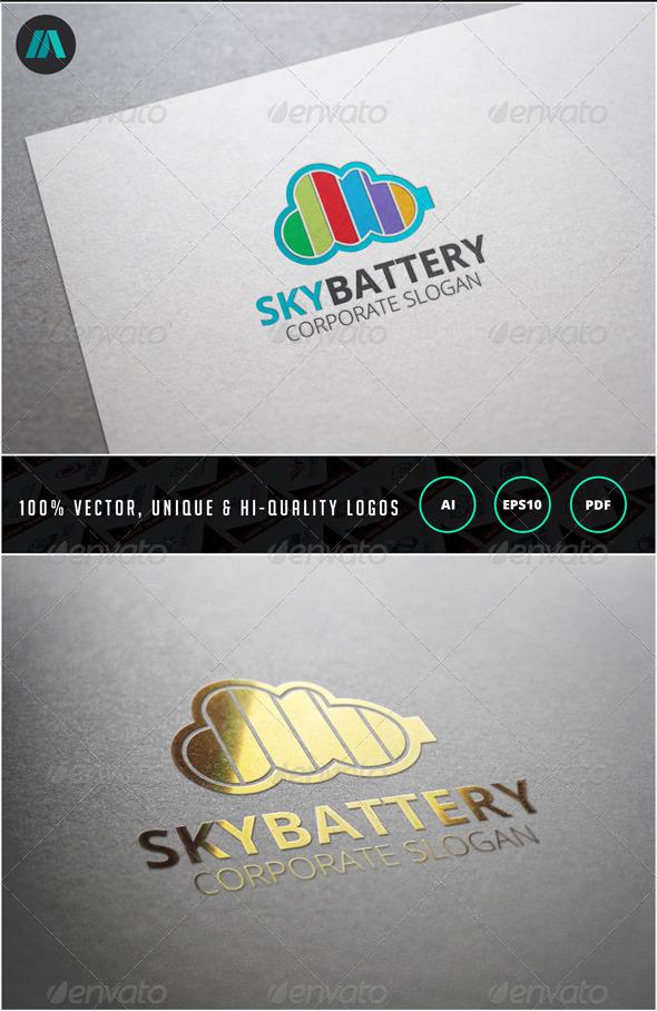 Sky Batter Logo Template