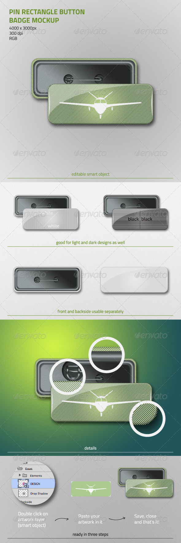 Pin Mockup Graphics, Designs & Templates from GraphicRiver