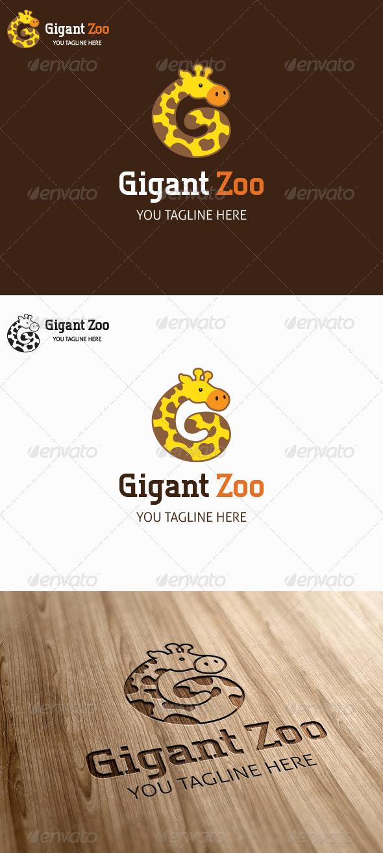 Gigant Zoo Logo Template