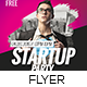 Startup Business Event Flyer & Poster - GraphicRiver Item for Sale