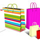 Modern and Retro Shopping Bags, Carrier Bags - GraphicRiver Item for Sale