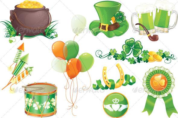 St.Patrick's Day Symbols