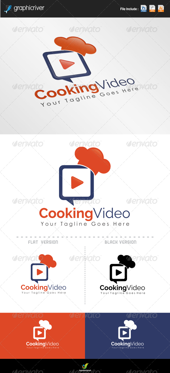 Cooking Video Logo