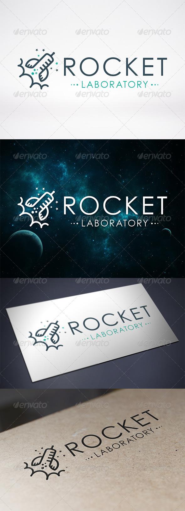 Rocket Lab Logo Template