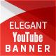 Elegant Youtube Banner - GraphicRiver Item for Sale