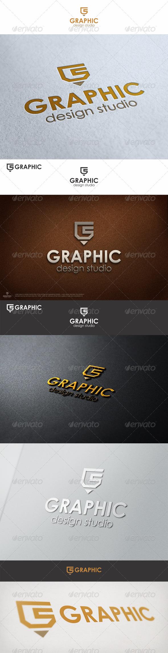 Graphic Pencil Studio Logo G
