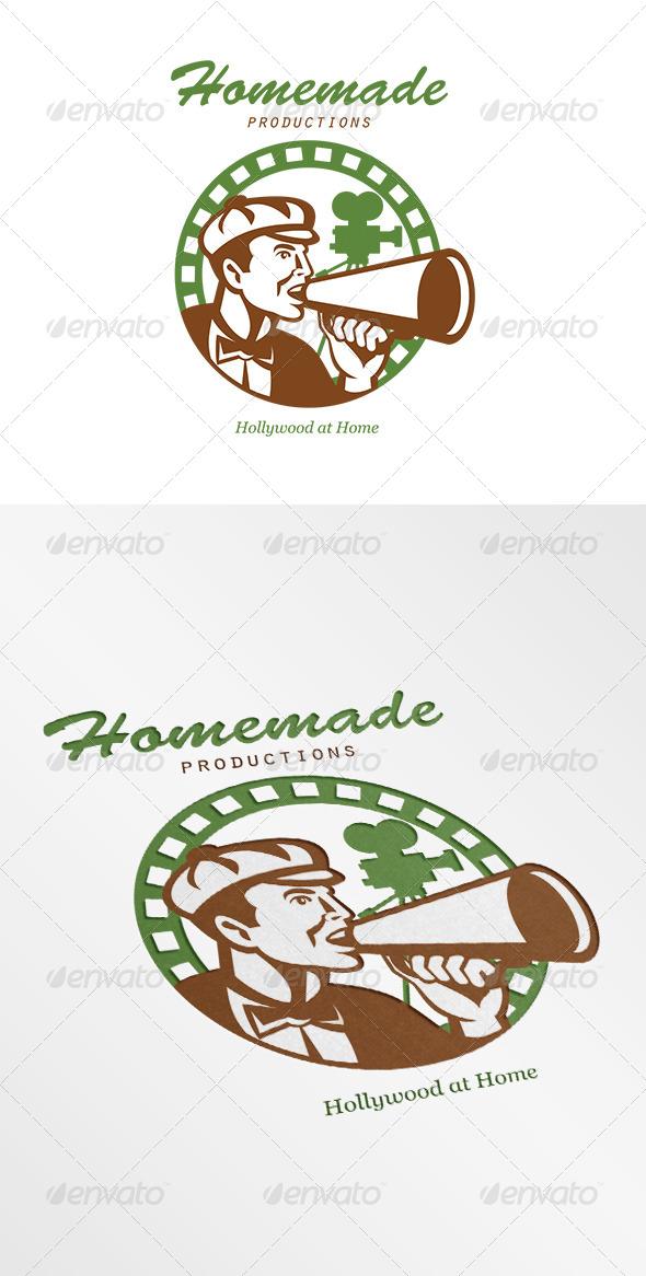 Homemade Productions Movie Camera Logo