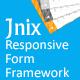 Jnix Responsive Form Framework - CodeCanyon Item for Sale