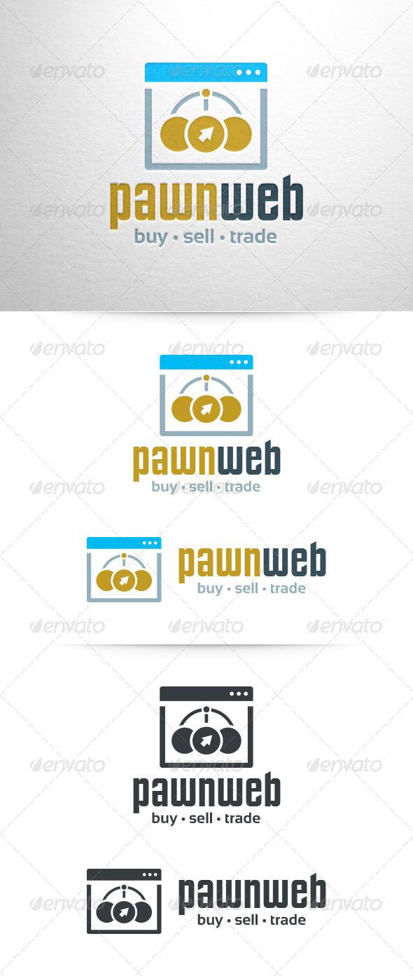Pawn Web Logo Template