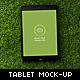 Nature Tablet Mock-up - GraphicRiver Item for Sale