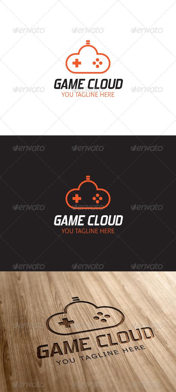 Game Cloud Logo Template