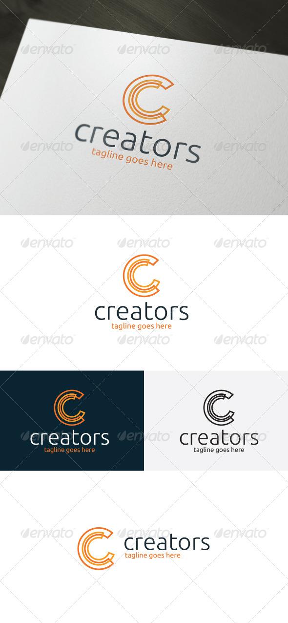 Creators Logo — Letter C