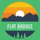 Flat Badges - GraphicRiver Item for Sale