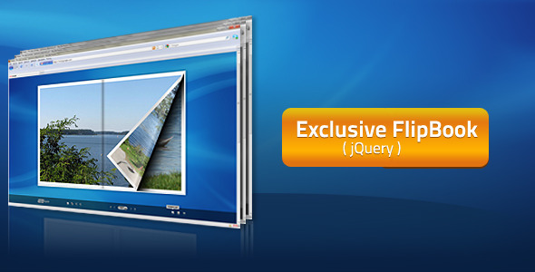 Exclusive FlipBook jQuery Plugin
