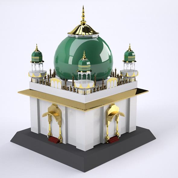 Mosque CG Textures & 3D Models from 3DOcean