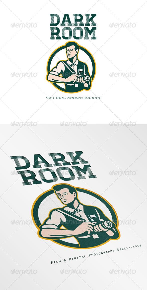 Dark Room Film and Digital Photography Logo