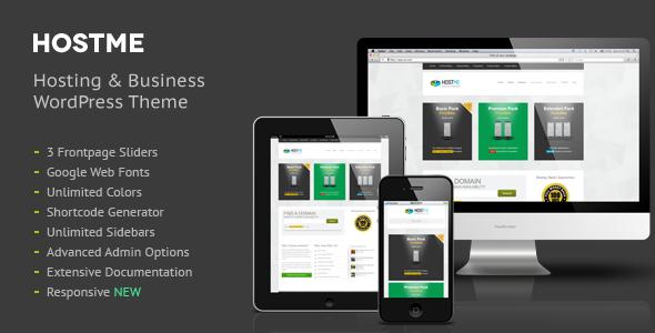 Hostme Premium Hosting & Business Wordpress Theme