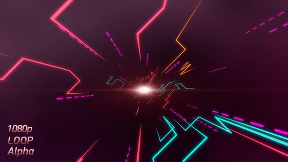 Neon Tunnel Video Effects & Stock Videos from VideoHive