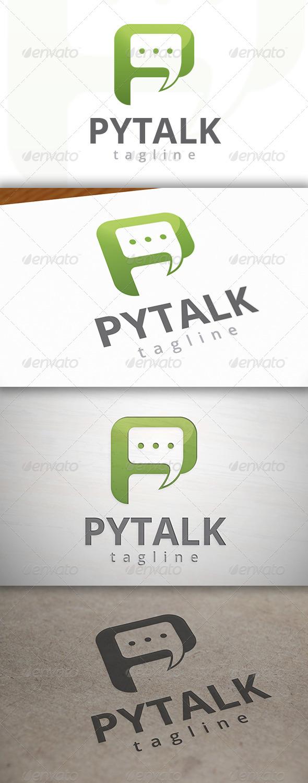 Talk P Logo