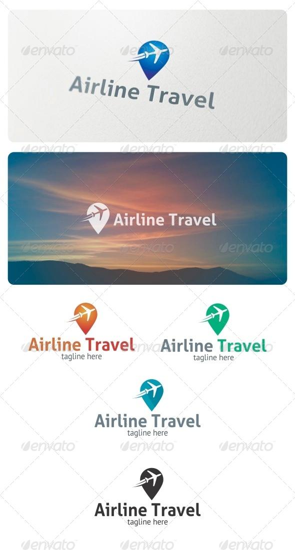 Airline Travel Logo