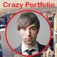 Crazy Portfolio Muse Template - ThemeForest Item for Sale