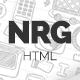 NRG - Responsive HTML Template - ThemeForest Item for Sale
