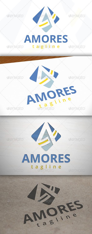 Amor A Letter Logo