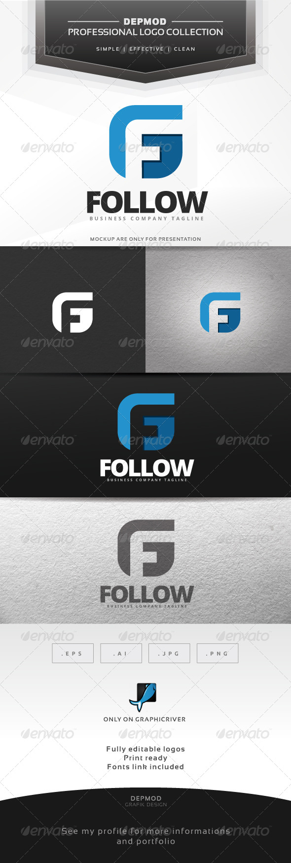 Follow Logo