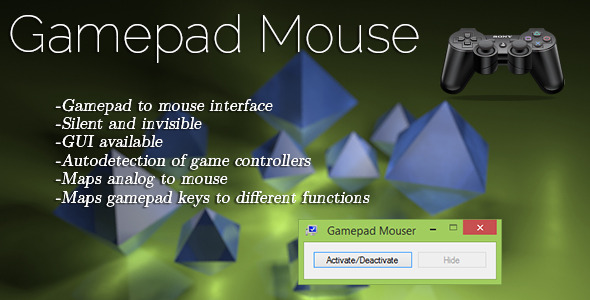 Gamepad Mouse Mapper