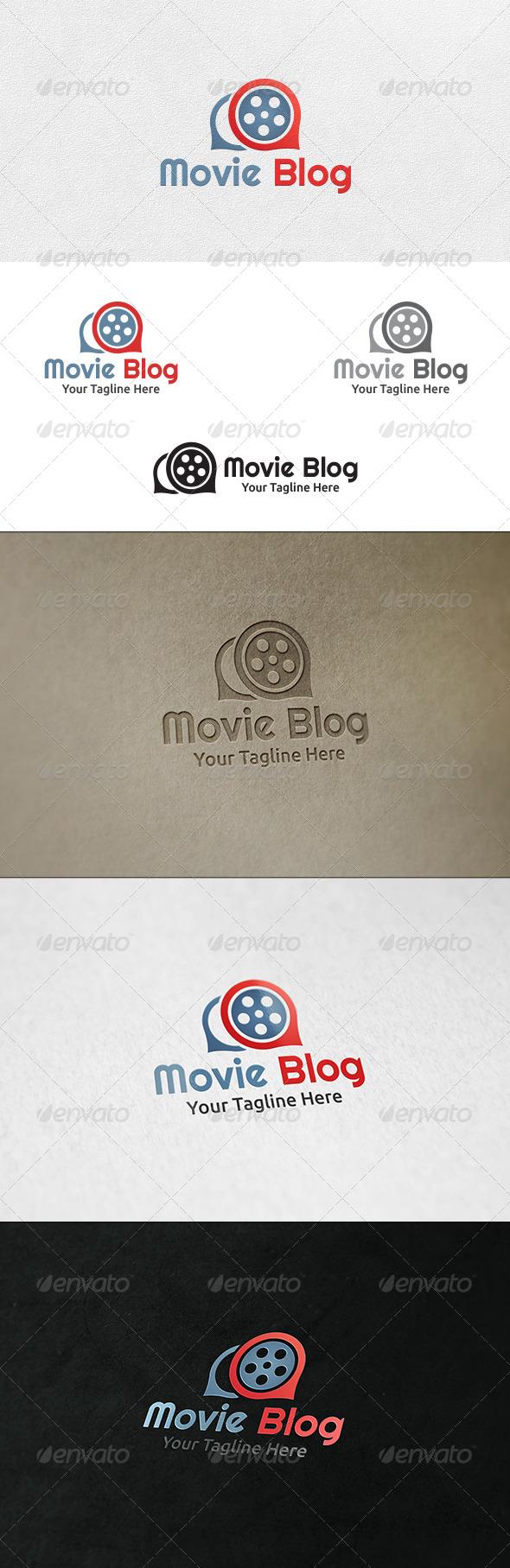 Movie Blog - Logo Template