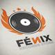 Fenix Records Store Logo Template - GraphicRiver Item for Sale