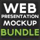 Web Presentation Mockup Bundle - GraphicRiver Item for Sale